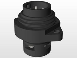 CA 3 GS Hirschmann industrial connector