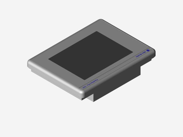ALLEN BRADLEY PANELVIEW PLUS COMPACT 1000 | 3D CAD Model Library ...