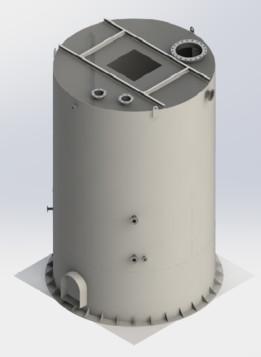 Tanque Reactor-Petroquimica