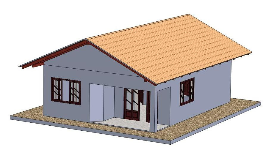 Small House | 3D CAD Model Library | GrabCAD