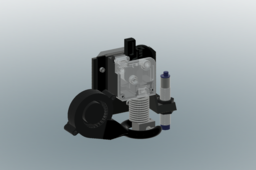 E3D Titan Extruder Assembly for THK linear rail