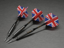 Darts - Eric Bristow - Harrows (created in PARTsolutions)