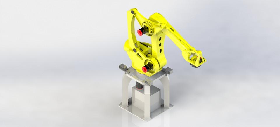 Robot Fanuc by Edmilson G. de Oliveira