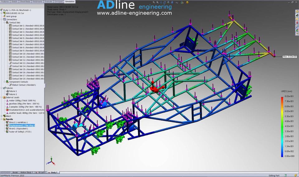Lotus kit car body frame  SOLIDWORKSSTLSTEP  IGES  3D CAD