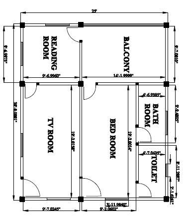 2d building design 3d cad model grabcad for 2d building drawing
