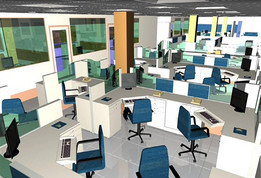 Office Type-2 (Auto cad 3D)