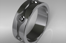 Engineer's wedding ring