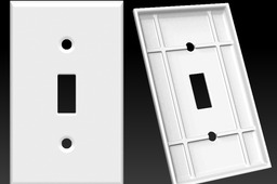 Light Switch Plate Single