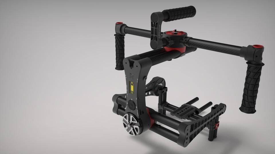 3 Axis Professional Camera Stabiliser - Gimbal | 3D CAD