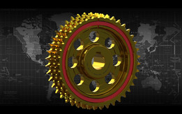 SPROCKET GEAR BRASS