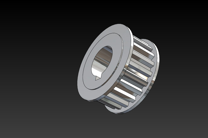 T5 Timing Pulley Cad :