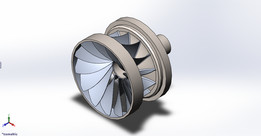 francis turbine fan