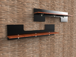 acrylic shelfs