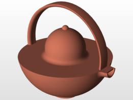 Art Deco Teapot