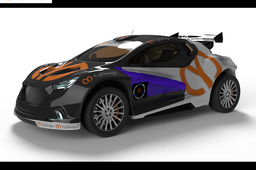 CyDesign Cheran rally car concept