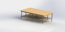 2x3m Working table