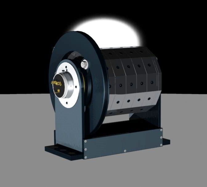 Rotary Halbach Generator | 3D CAD Model Library | GrabCAD