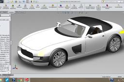 Mercedes Benz SLS AMG-(slight change in design)