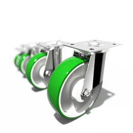 Castor wheel 52 series