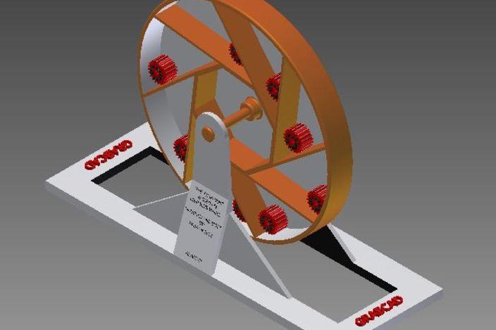 "Leupolds Wheel or ""The Tymapanum"""