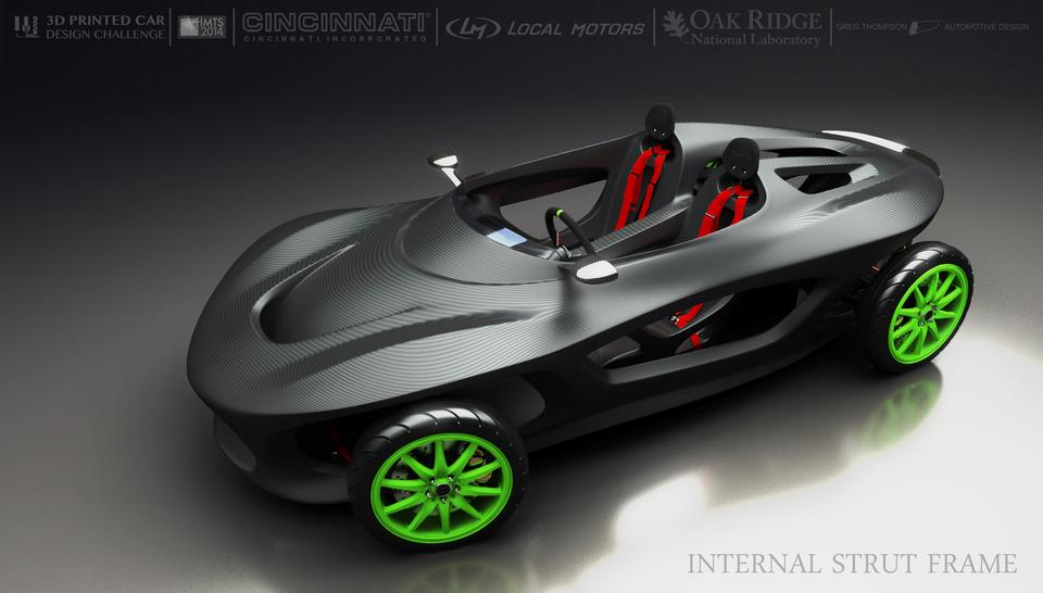 Local Motors   ISF(Internal Strut Frame) For 3d Printed Car Challenge   3D  CAD Model   GrabCAD