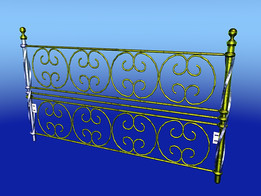 HEAD OF BED  ( BRASS)