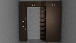 wall unit шкаф