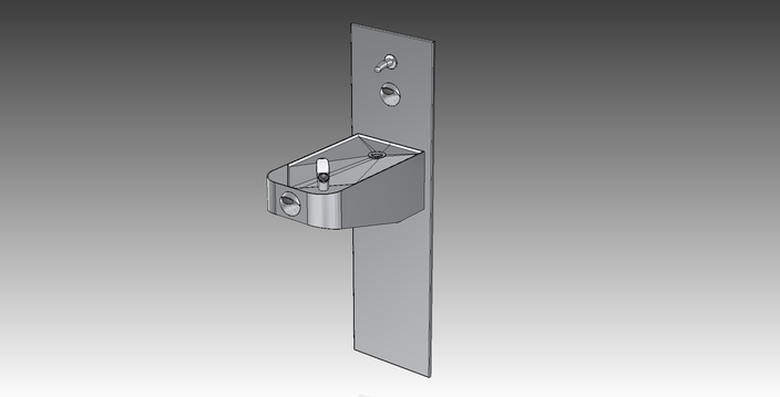 Drinking Fountain (Horizon-WM-S)