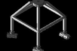 Advanced light weight lunar gantry (ALLGO)