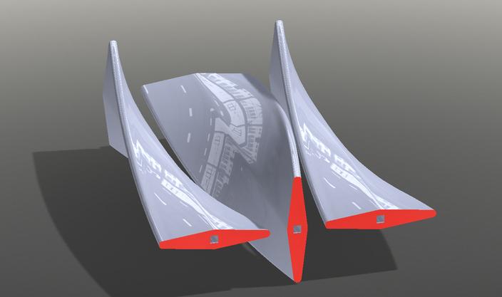 Industrial Mixer Blades