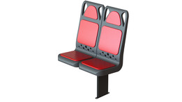 New bus seat
