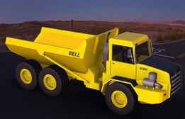 Mining Articulated Dump Truck (ADT)