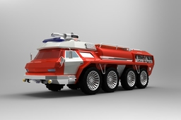 Firefighter vehicle