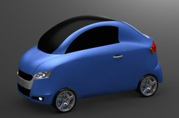 Hybrid Car Body Concept Design