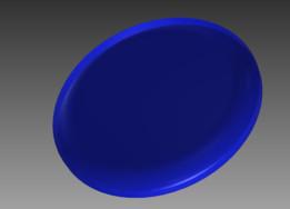 Blue Ultrastar Flying Disc (Frisbee)