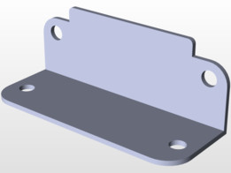 distance sensor bracket