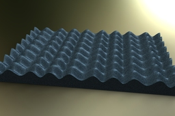 Render of Convaluted foam (24x24) by Stan Wile