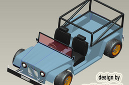 jeep modeling in pro e 4.0