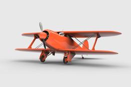 Beechcraft G17 -plane