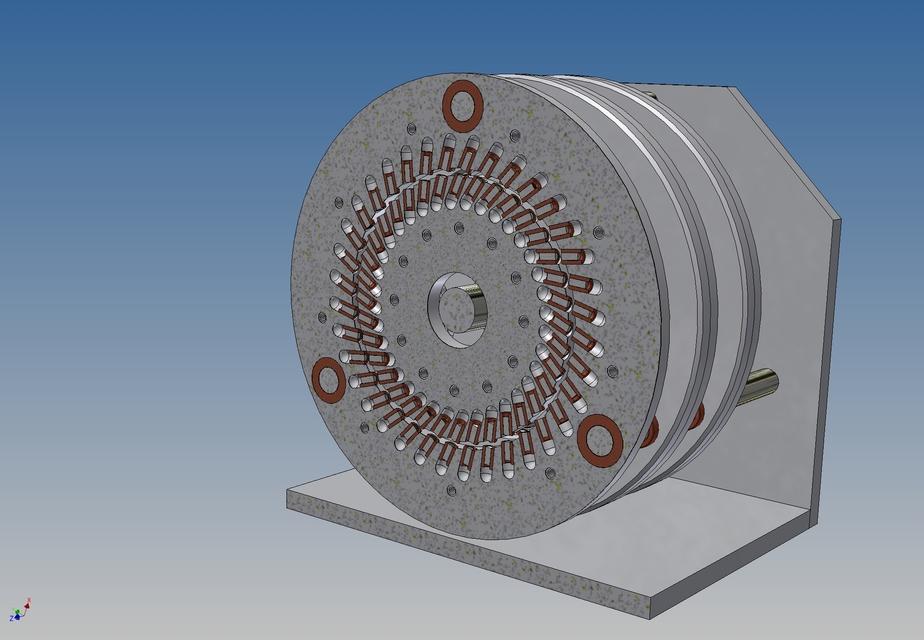 Perendev magnetic motor step iges 3d cad model grabcad for How to make free energy magnet motor