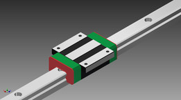 HIWIN linear rail bearing. HGW15CC