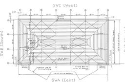 Roof Framing Plan - Complex Steel Design
