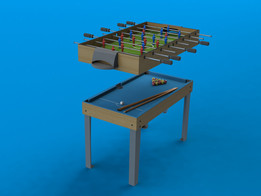 Foosball Pool Table
