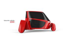 Futuristic vehicle 2040
