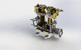 Motor 2 Clindros - Twin cylinder engine