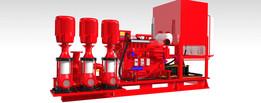 set fire pump