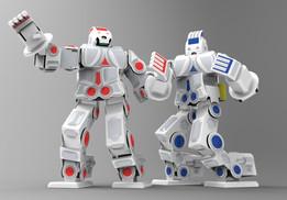 RoboSavvy Humanoid Robot