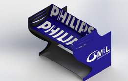 Rear wing team Williams.
