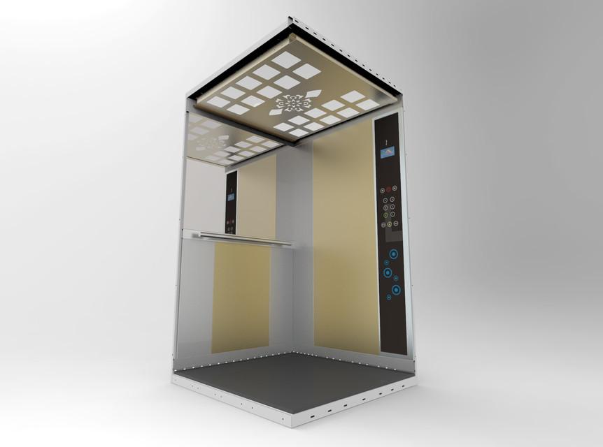 ELEVATOR LIFT Asansör   3D CAD Model Library   GrabCAD