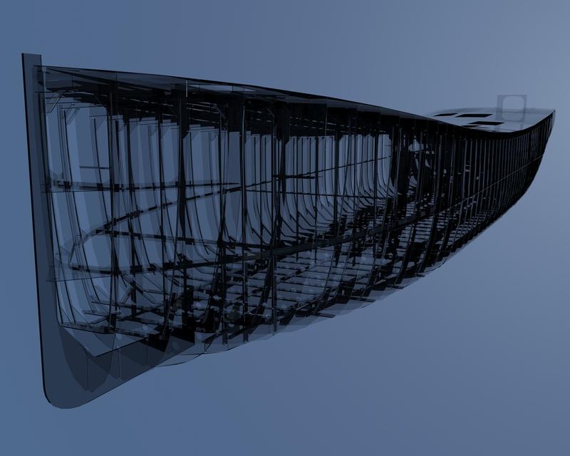 Ship Hull   3D CAD Model Library   GrabCAD
